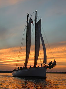 Sail Newport Sunset Sails & private yacht charters