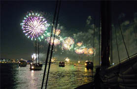 Join us for a Newport Fireworks Cruise!