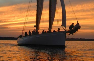 Sunset Sail on Schooner Adirondack II